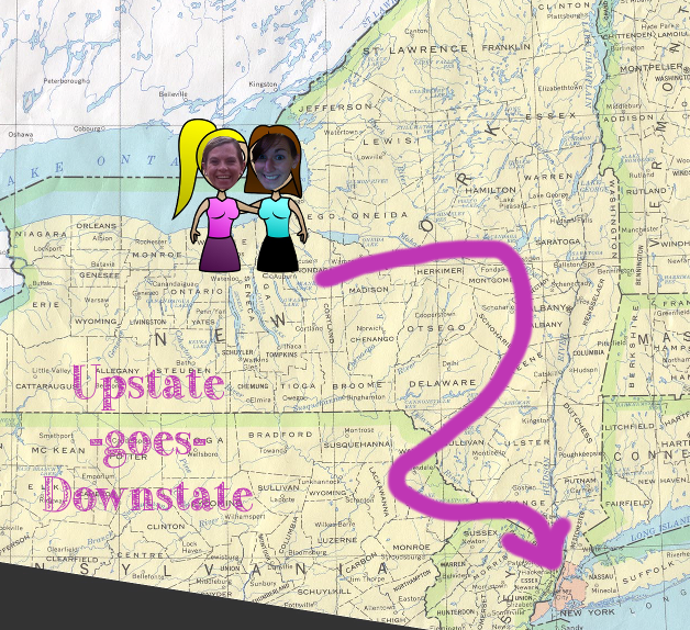 upstate-goes-downstate